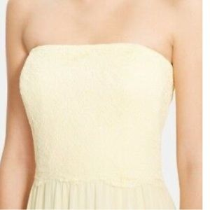 Ralph Lauren Yellow Lace Dress